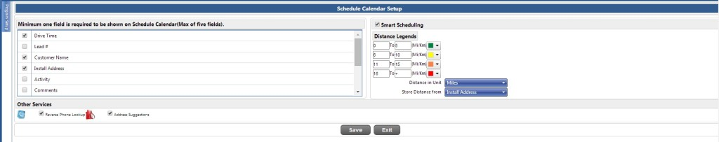 Smart Scheduling Software